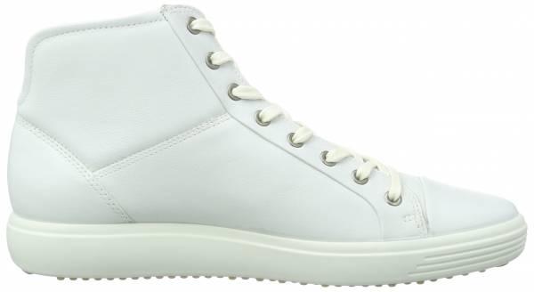 Ecco Soft 7 High Top - White White1007 (4300231007)