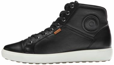 Ecco Soft 7 High Top - Black