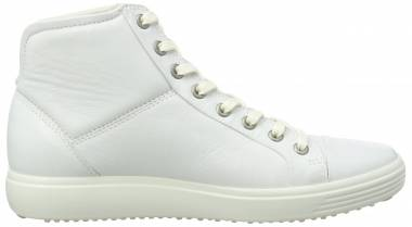 Ecco Soft 7 High Top - White