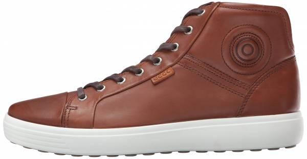 Ecco Soft 7 High Top Mahogany (Mahogany2195)
