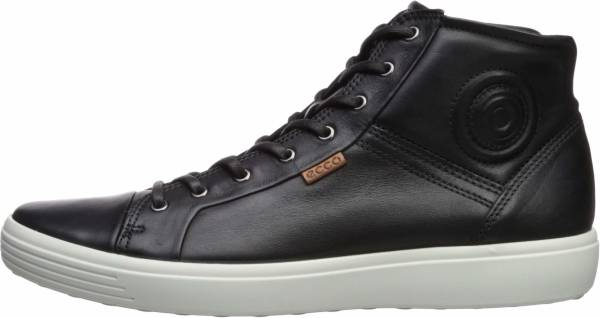 Ecco Soft 7 High Top - Black 1001black (4300241001)