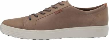 Ecco Soft 7 Sneaker - Navajo Brown Oil Nubuck (43000402114)