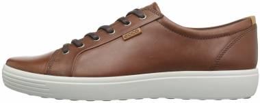 Ecco Soft 7 Sneaker - Mahogany