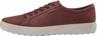 Ecco Soft 7 Sneaker - cognac oil nubuck (43000402053)