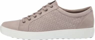 Ecco Soft 7 Sneaker - Moon Rock Plaited