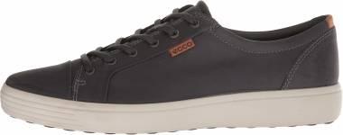 Ecco Soft 7 Sneaker - titanium oil nubuck