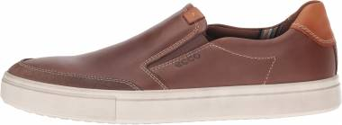 Ecco Kyle Slip On Cocoa Brown Men