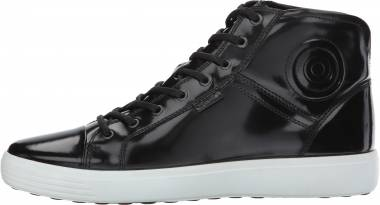 Ecco Soft 7 Premium Boot - Black Patent