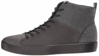 Ecco Soft 8 High Top - Black (440844064)