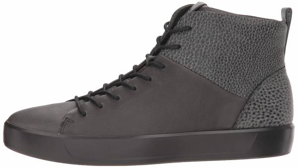 Ecco Soft 8 High Top - Black (440844064)