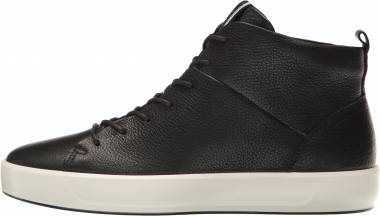 Ecco Soft 8 High Top - Black