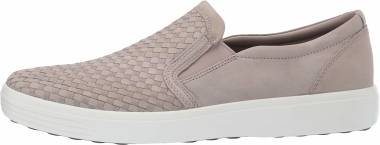 Ecco Soft 7 Slip On - Moon Rock Plaited (44035402459)
