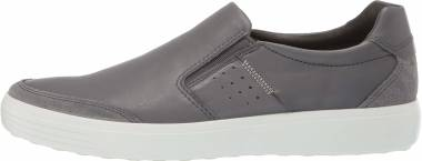 Ecco Soft 7 Slip On - Grey (43079457486)