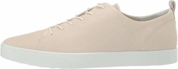 Ecco Gillian Sneaker - Ice White Metallic 51384