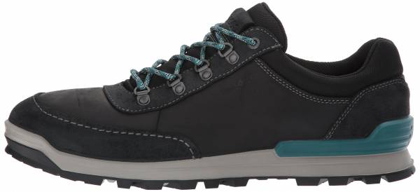 Ecco Oregon Retro Sneaker - Black/Black
