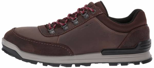 Ecco Oregon Retro Sneaker Coffee/Coffee