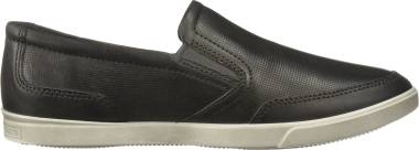 Ecco Collin Perf Slip On - Titanium