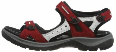 Ecco Yucatan - Chili Red/Concrete/Black (06956355287)
