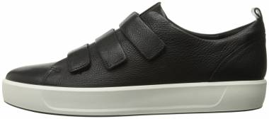 Ecco Soft 8 Strap Black Men