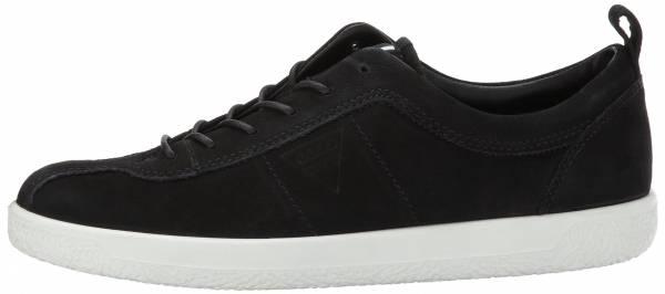 Ecco Soft 1 Sneaker - Black Nubuck