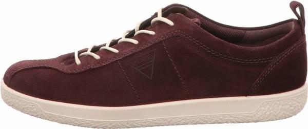Ecco Soft 1 Sneaker - Purple Fig 5385