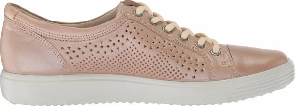 Ecco Soft 7 Trend Tie - Powder Trend Perforated