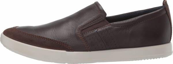 Ecco Collin 2.0 Slip On - Coffee Suede/Coffee