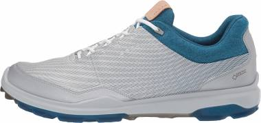 Ecco BIOM Hybrid 3 GTX - White/Olympian Blue Yak Leather (15580451405)