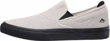 Emerica Wino G6 Slip-On - White Black (6101000111110)