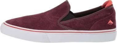 Emerica Wino G6 Slip-On - Burgundy (6101000111602)