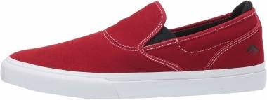 Emerica Wino G6 Slip-On - Red/White/Black