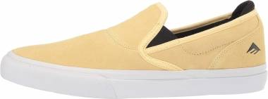 Emerica Wino G6 Slip-On - Yellow/White