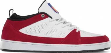 eS SLB Mid - White Red (5101000153170)