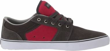 Etnies Barge LS - Gris 065 Dark Grey Red 065 (410100035165)