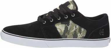 Etnies Barge LS - Black 985 Black Green 985