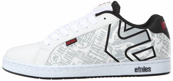 Etnies Metal Mulisha Fader Bianco (Blanc (White/Black/Red))