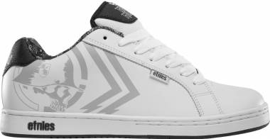 Etnies Metal Mulisha Fader - White Black Print