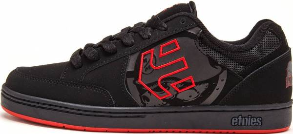 Etnies Metal Mulisha Swivel - black/black/red
