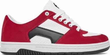 Etnies Senix Lo - Red/White/Black (1395680608330)