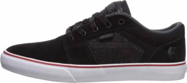 Etnies Metal Mulisha Barge LS - Black Charcoal Red 557