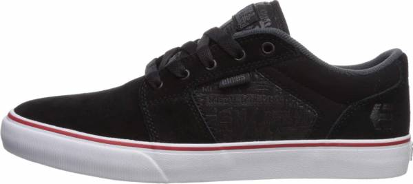 Etnies Metal Mulisha Barge LS - Black/Charcoal/Red
