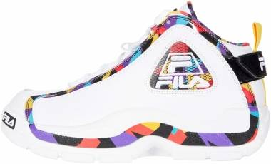 Fila Grant Hill 2 - White/Black/Electric Purple (1BM01083118)