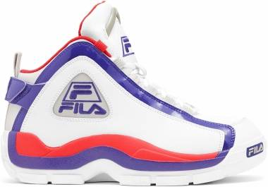 Fila Grant Hill 2 - White/Deep Blue/Pointsettia (1BM01088253)