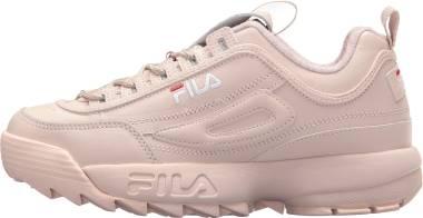 Fila Disruptor 2 Premium - Peach Blush/White/Fila Red (5FM00002662)