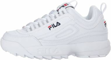 Fila Disruptor 2 Premium - White/Navy/Red (5FM00002125)