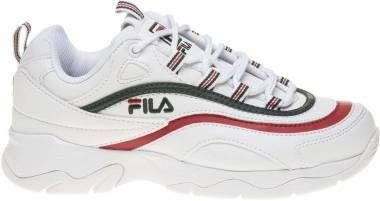 Fila Ray   - White/Sycamore/Fila Red