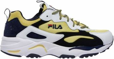 Fila Ray Tracer - Lemonade White Black