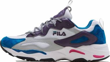 Fila Ray Tracer - White Ink Blue Pink Purple