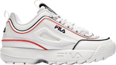 Fila Disruptor 2 - White/Fila Navy/Fila Red (1XM00792125)