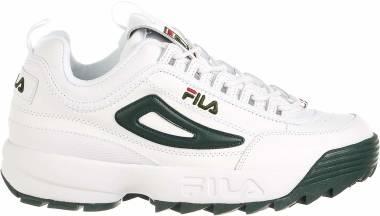 Fila Disruptor 2 - White/Sycamore/Fila Red (1FM00139124)